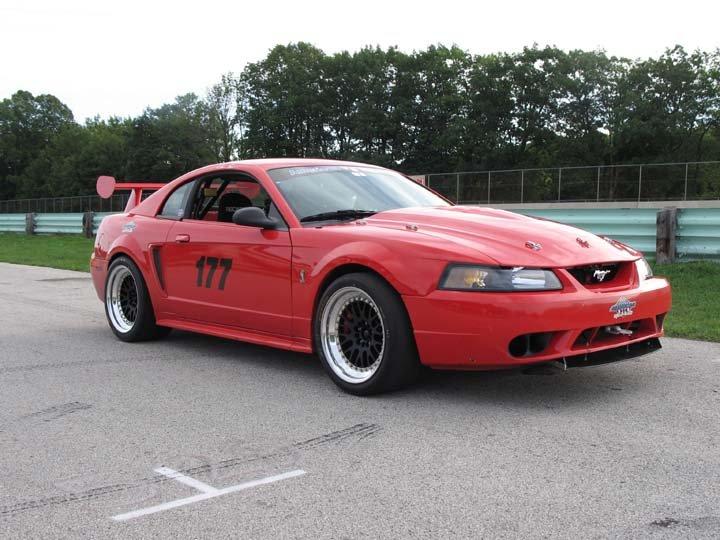mustang cobra r. Beginning Autocross Mustang