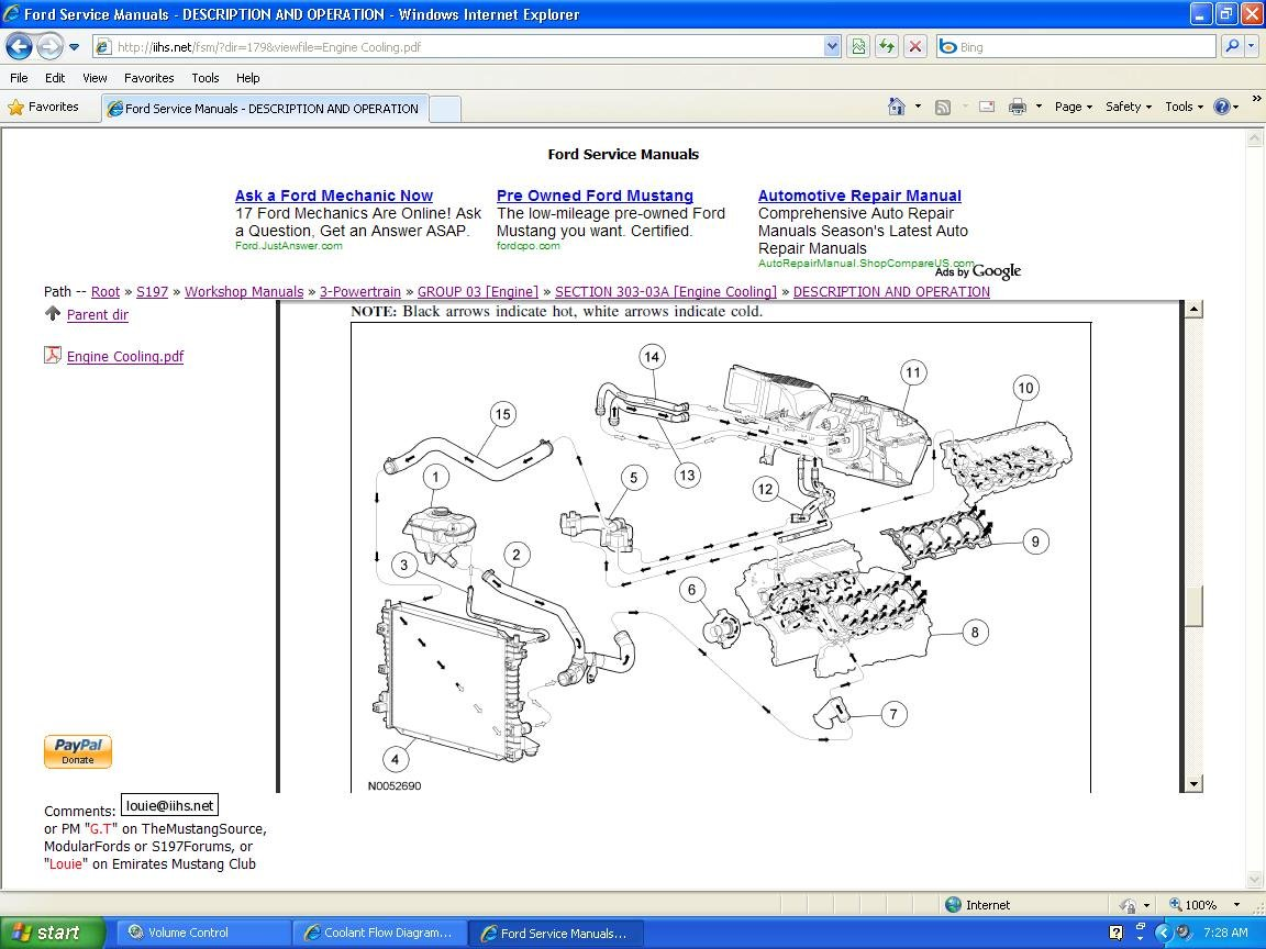 Looking For A Mustang Gt Coolant Flow Diagram Ford Forum Engine Cooling Click Image Larger Version Name Cooling1 Views 32493 Size 1464