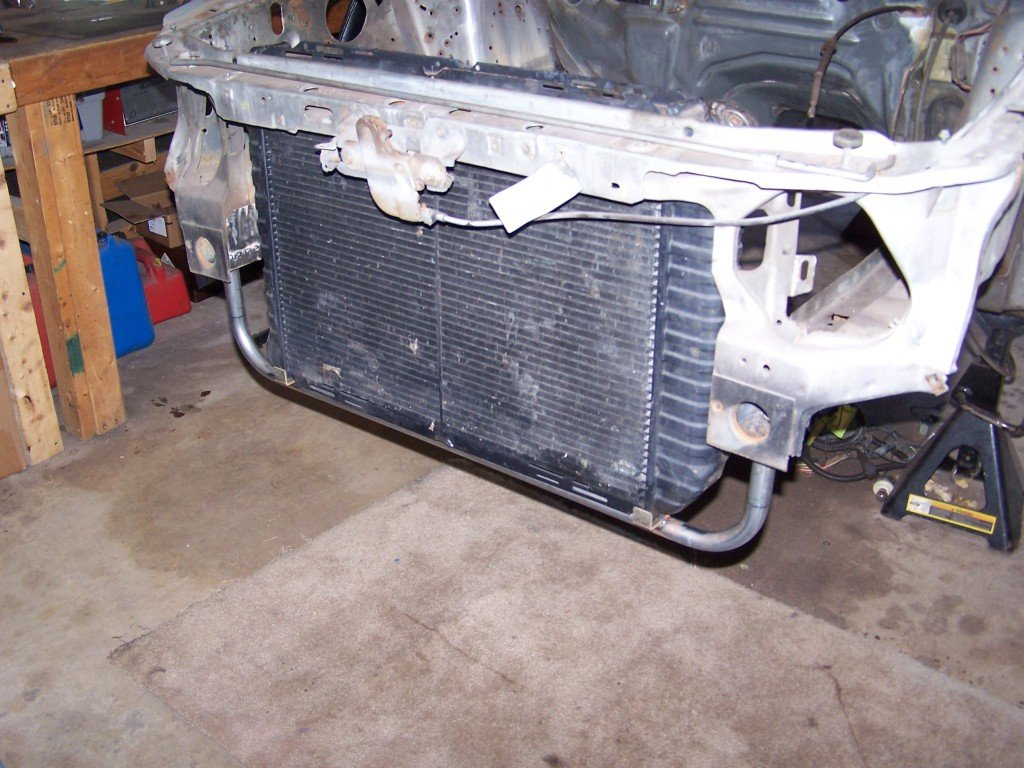 Metal piece the radiator sits in - Page 3 - Ford Mustang Forum
