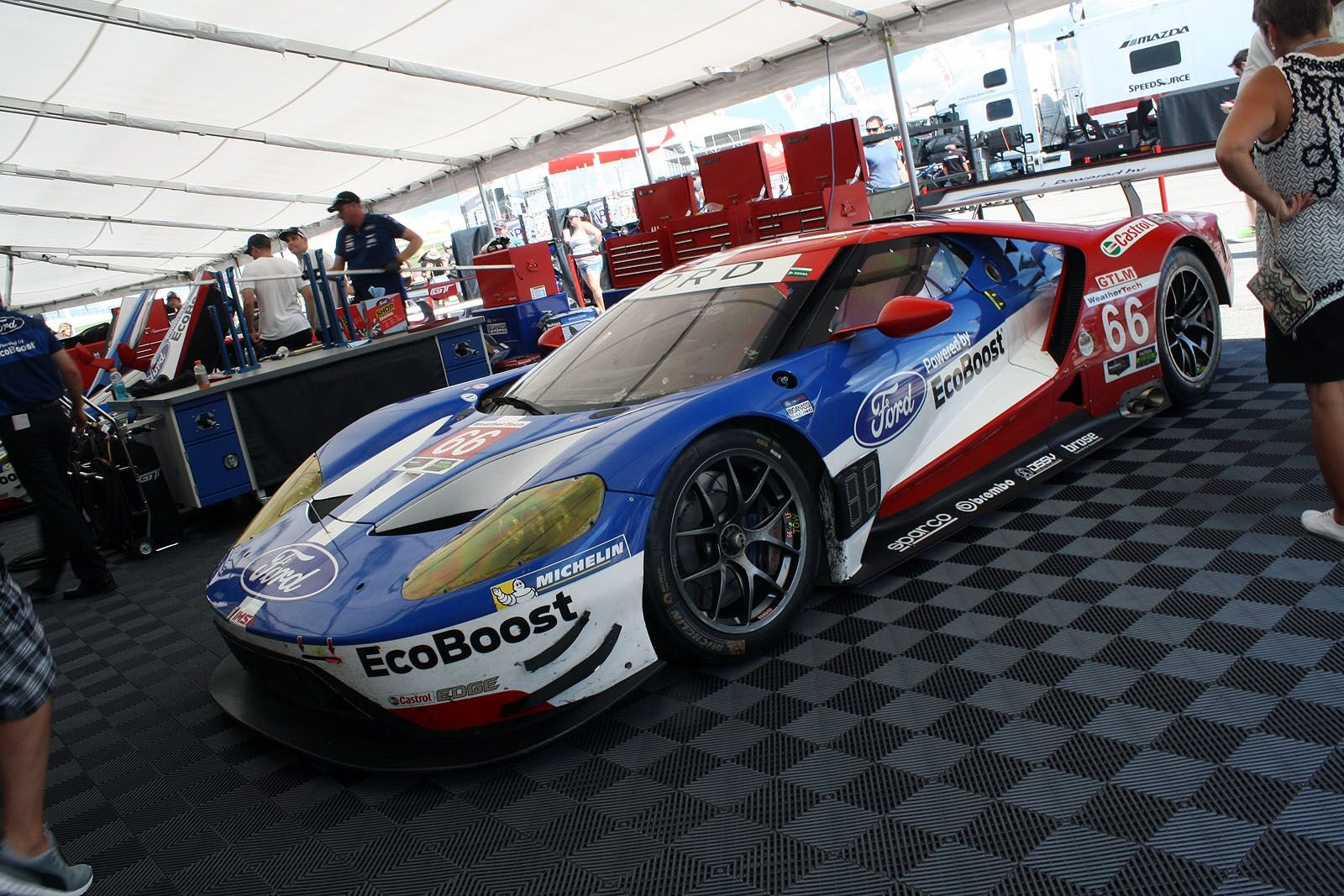 Rough Trip to Texas for All Four Ford GTs