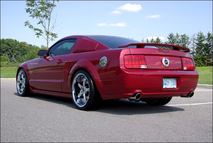 2005 Mustang Gt 0 60 >> 20 inch Wheel and Tire Package for 2006 Mustang GT - Ford