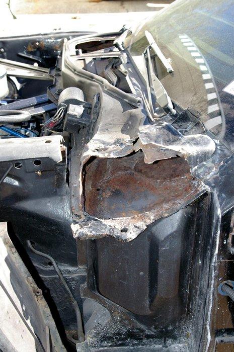 1966 Mustang Cowl Repair Approx Cost