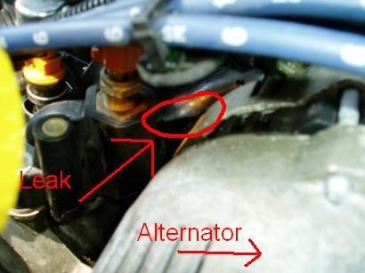 cracked intake manifold replacement