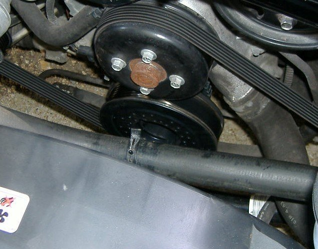 2005 Mustang Needs Crankshaft Pulley Harmonic Balancer