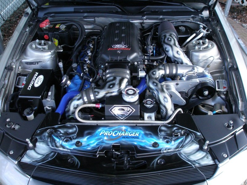 Engine Bay Upgraded Ford Mustang Forum