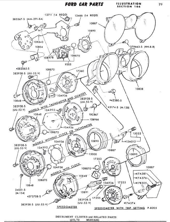 1966 Mustang Carb Autolite Settings Diagram
