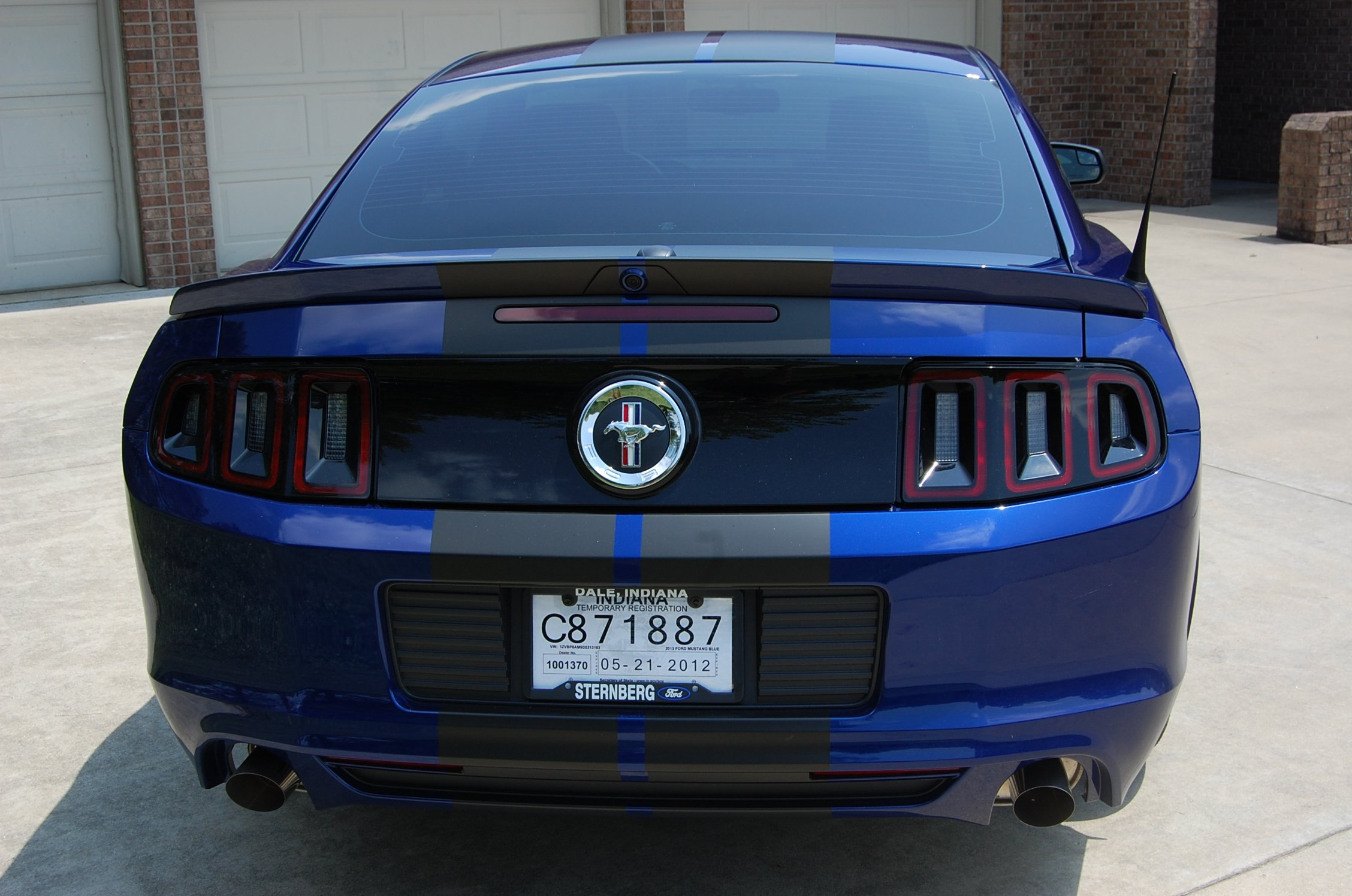 Vinyl Wrap Or Paint For Racing Stripes Ford Mustang Forum