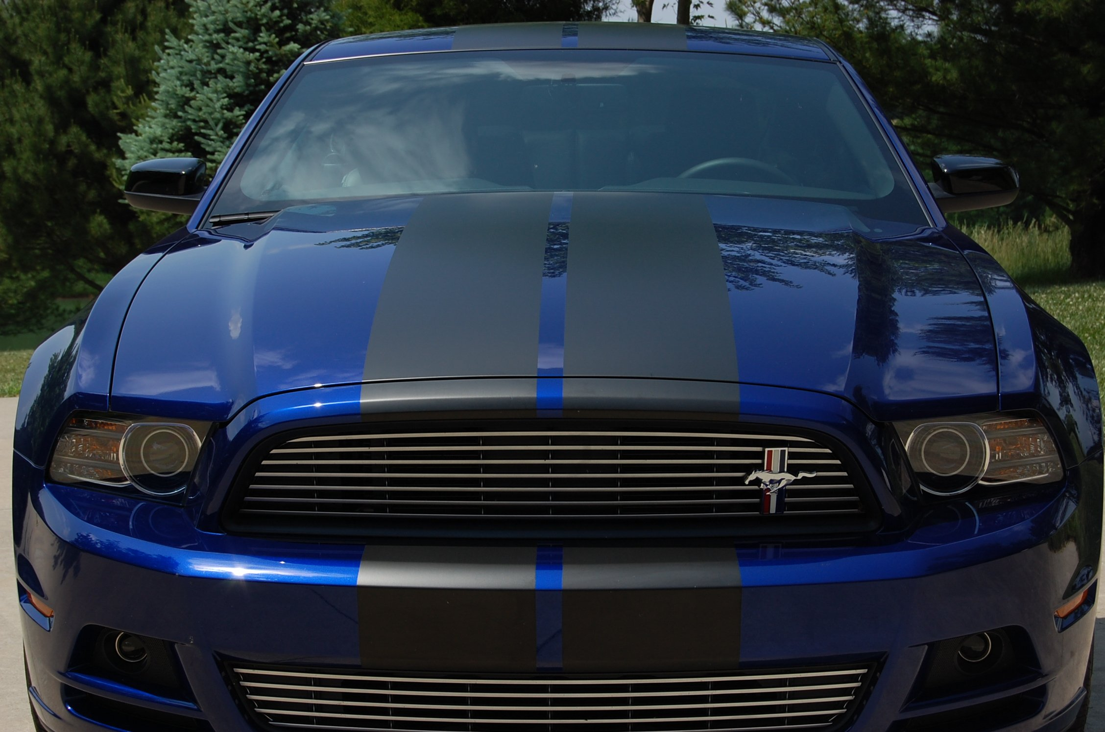 Ford Mustang Build >> Post your Deep Impact Blue ( DIB ) pics here! - Ford Mustang Forum