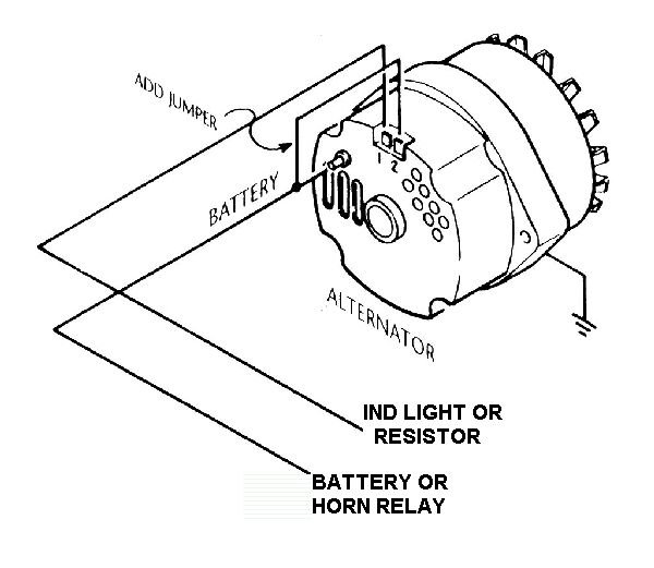 38879d1201630564 internally regulated alternator w external regulator delcosi2wiring internally regulated alternator w external regulator? ford ford alternator wiring diagram internal regulator at readyjetset.co