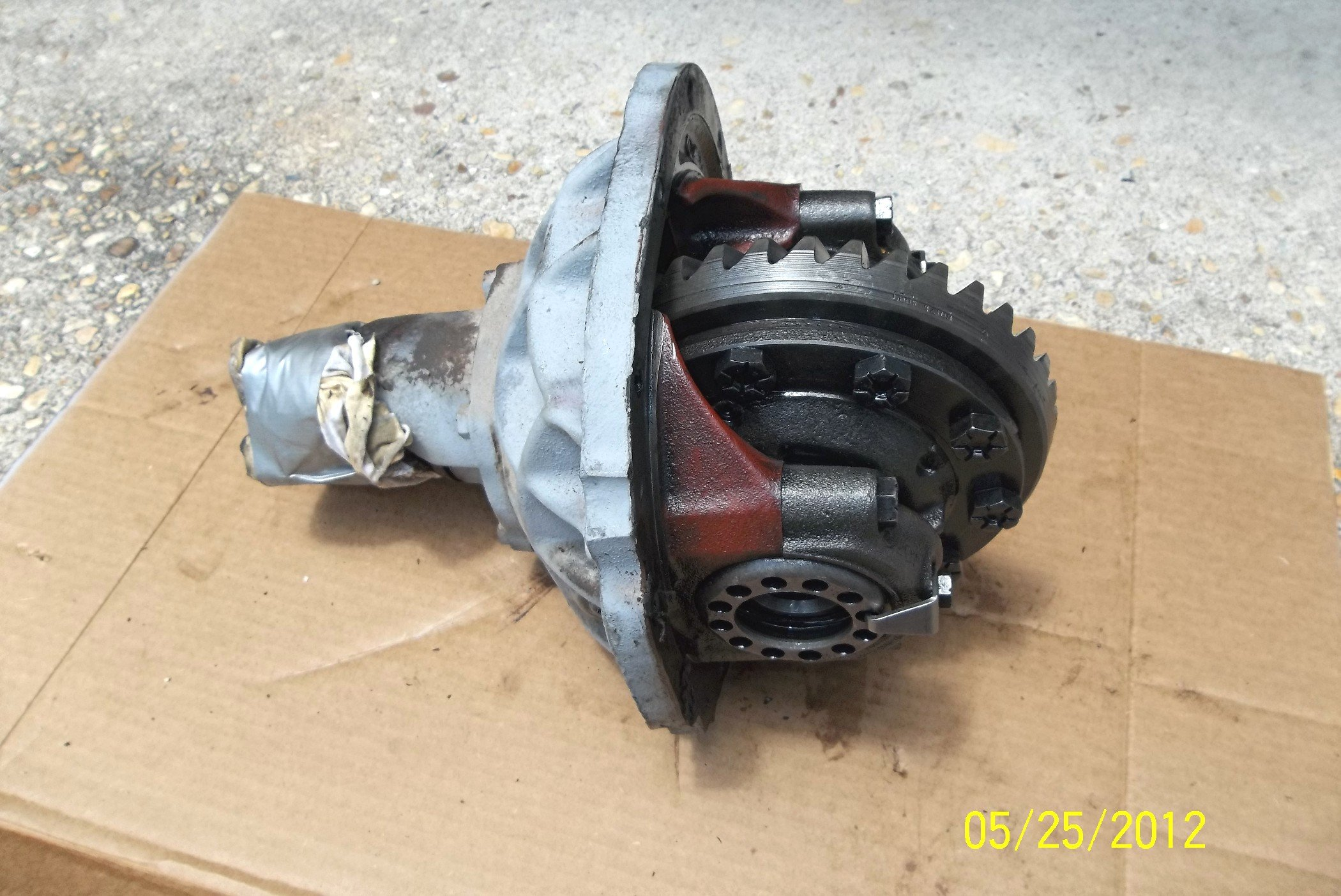 1965 Mustang 289 Coupe Rear Axle Overhaul Query Ford