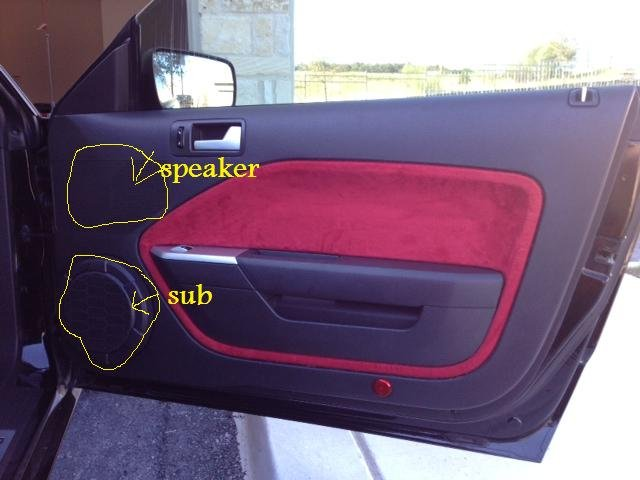 Shaker 500 Subwoofer Question Ford Mustang Forum