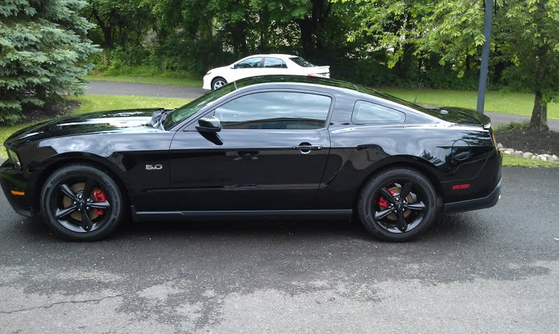 2012 Mustang Gt Stock Powder Coated Wheels Ford Mustang