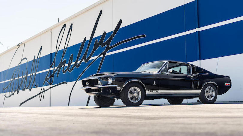 20 Cars from Shelby's Private Collection are Up for Sale