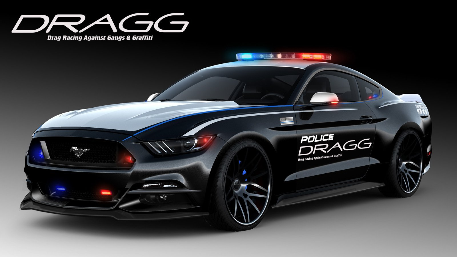 dragg check out ford's stable of 8 custom sema show mustangs  at bayanpartner.co