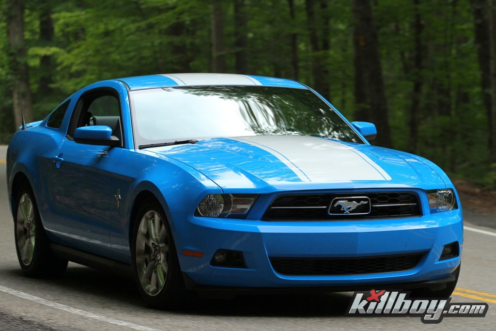 Ford Mustang Roush >> Stripes or No Stripes on my Grabber Blue 2011 Mustang GT? - Ford Mustang Forum