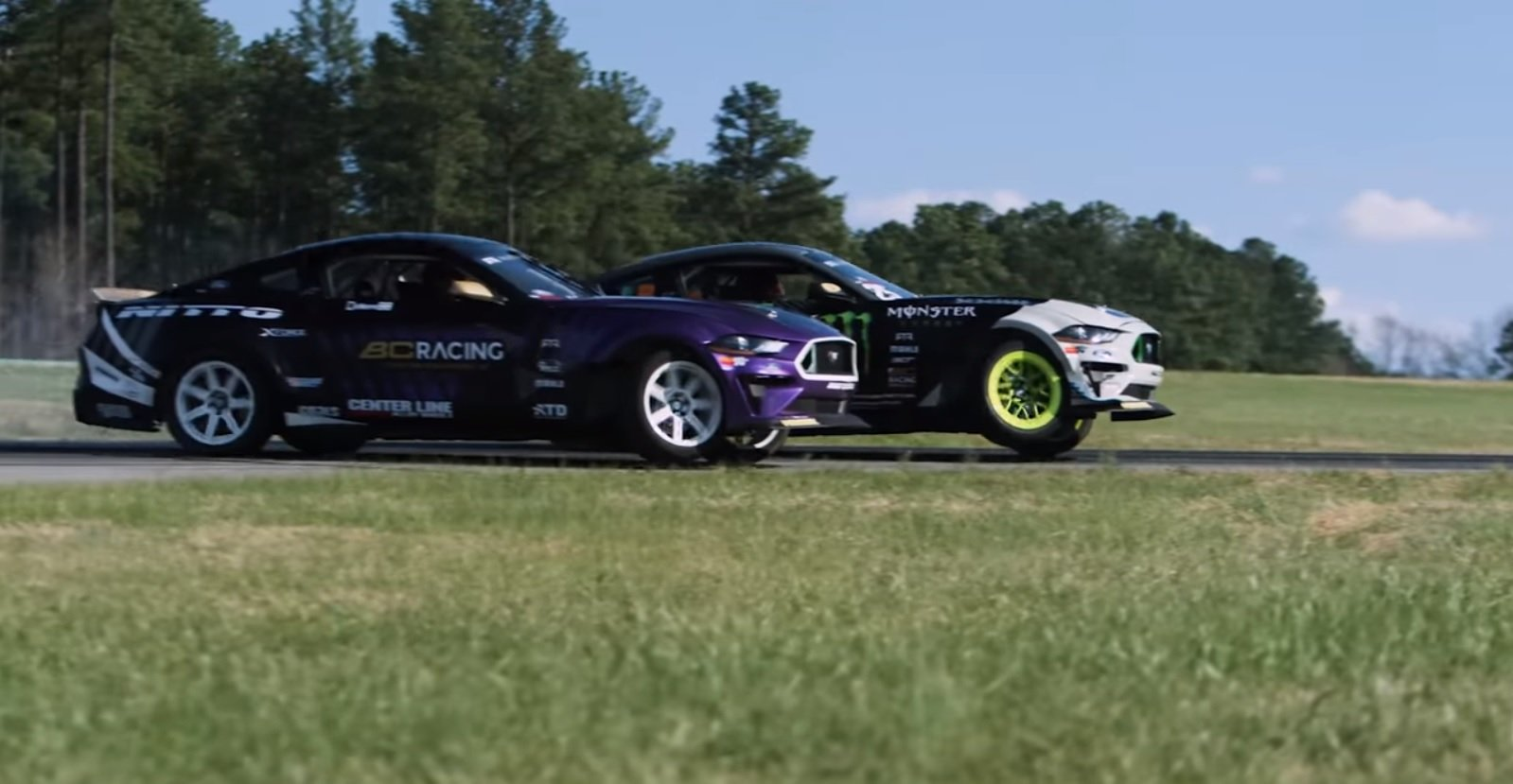 Watch: Ford Celebrates the New Formula Drift Season the Only Way it Knows How