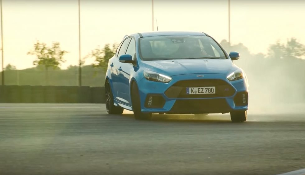 How Ford's Focus RS Drift Mode Hangs the Tail