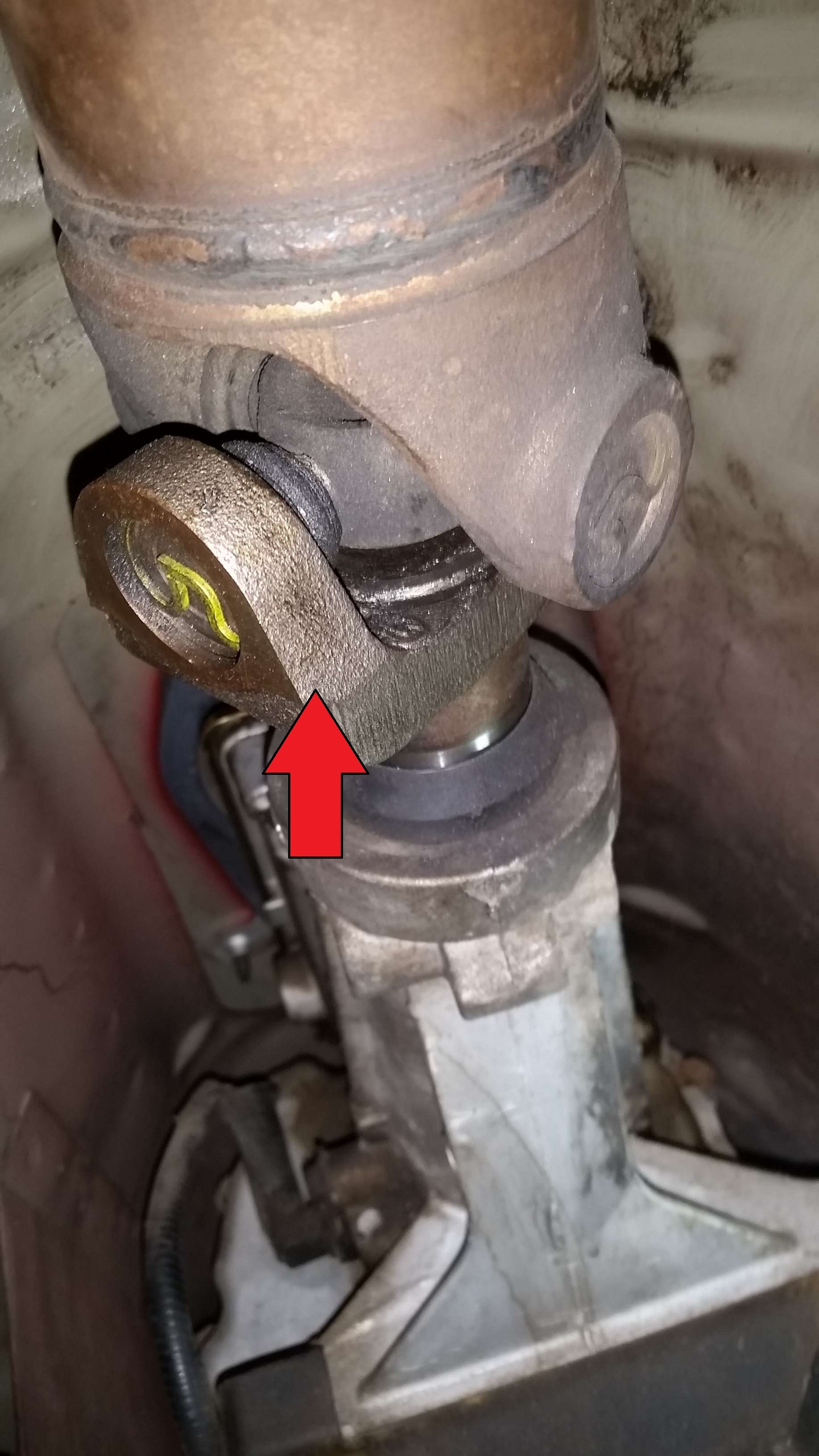 transmission leak manual question yoke driveshaft mustang ford forum