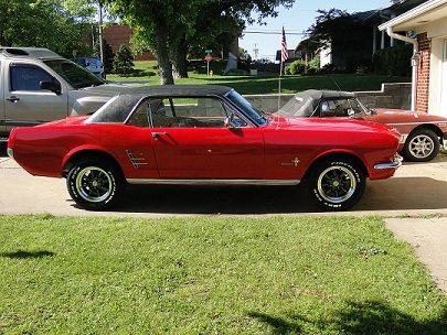 1965 1966 Tire And Wheels Picture Thread Ford Mustang