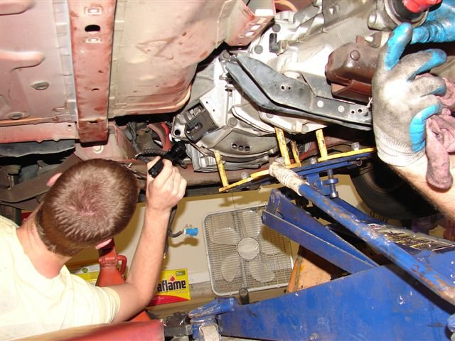 Changing The Clutch On My 1999 Mustang 38 Ford Forumrhallfordmustangs: 1997 Ford Mustang Starter Location At Gmaili.net
