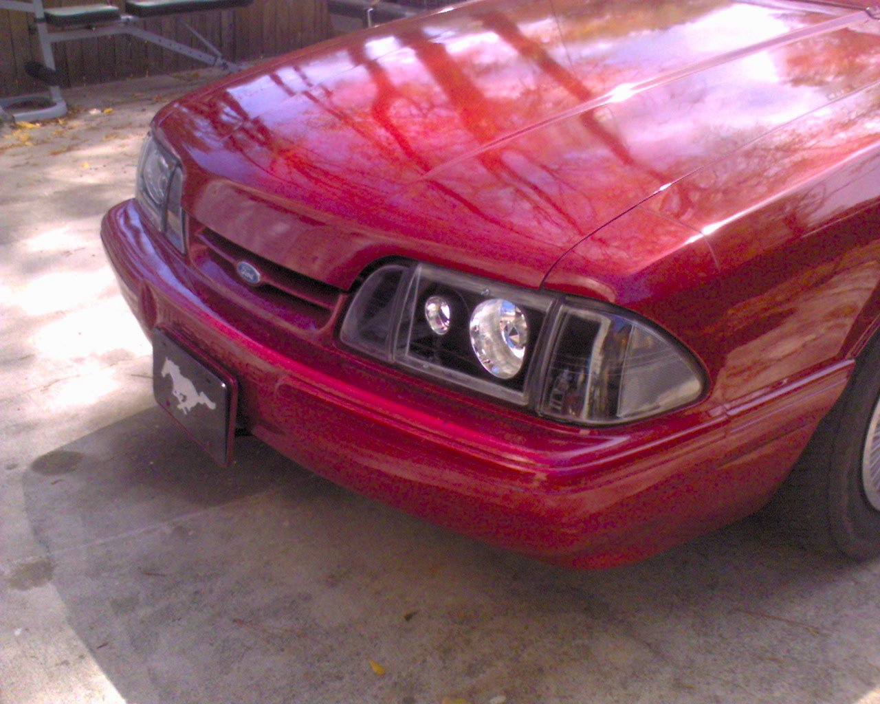 Please Add Aftermarket Headlights And Tailights Too The Ford Mustang