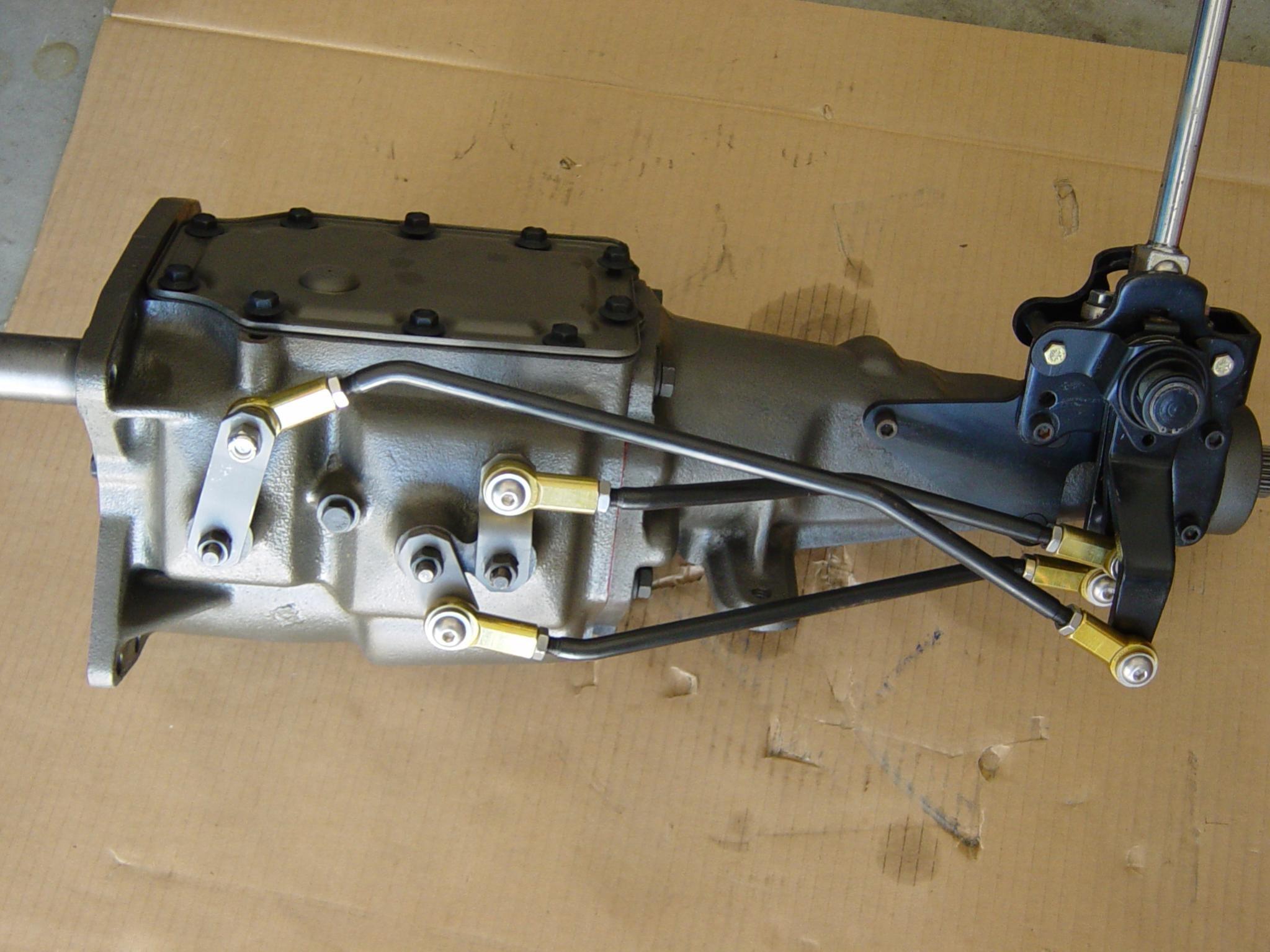 1967 mustang 4 speed manual transmission