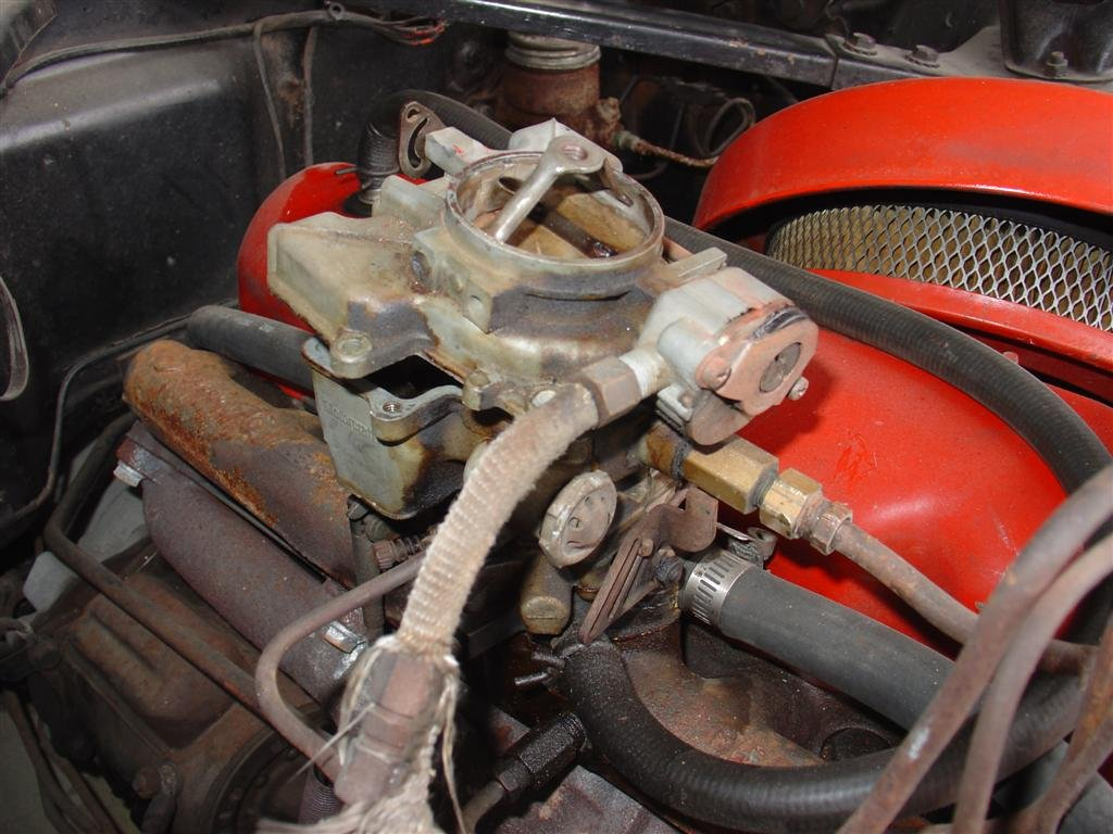 1965 Mustang One-barrel Carburetor Identification