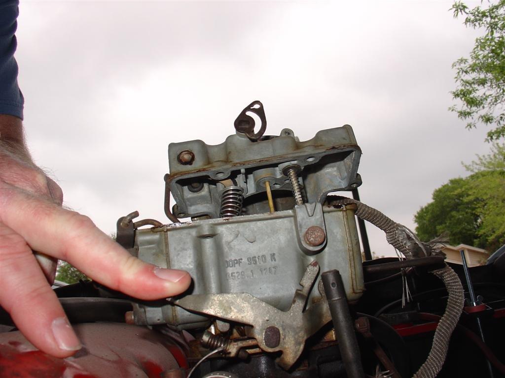 D Mustang One Barrel Carburetor Identification Dsc Medium on Ford Carburetor Diagram