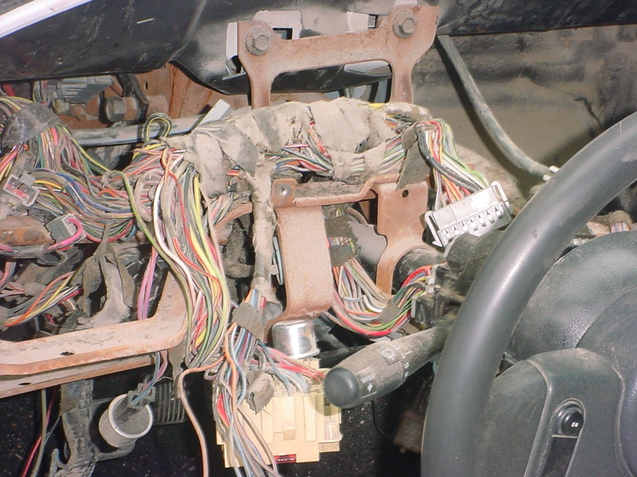 12808d1134269196 underdash wiring diagram dsc01663 underdash wiring diagram ford mustang forum Ford Steering Column Diagram at edmiracle.co