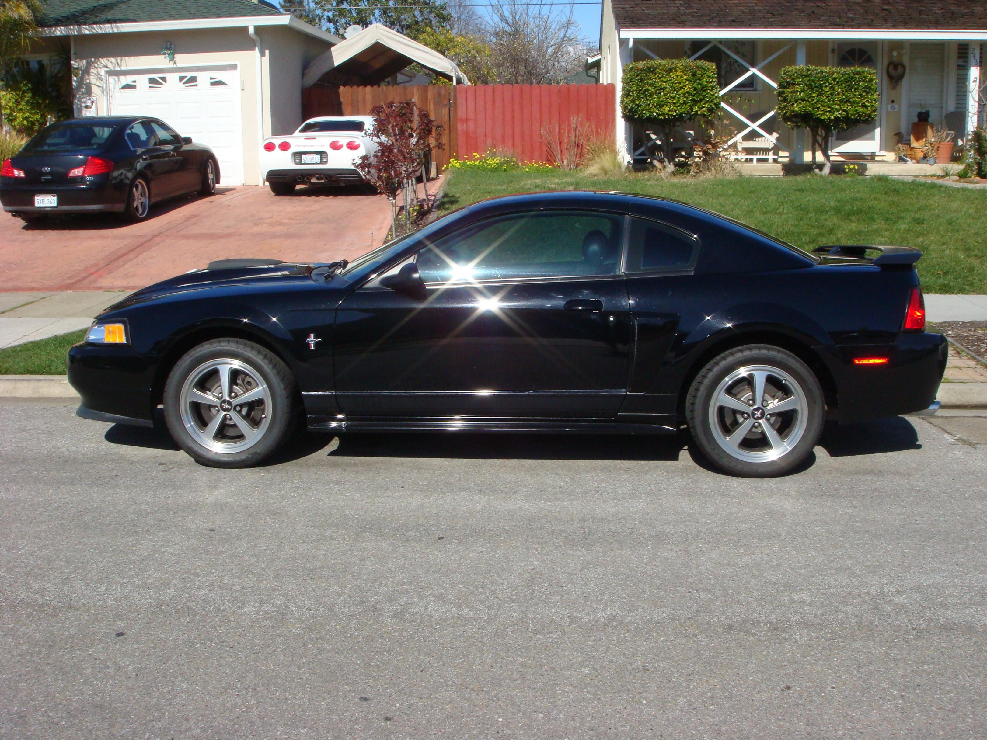 2003 black ford mustang mach 1 5 speed