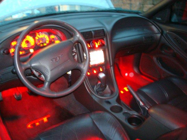 99-04 Mustang Gauge Cluster Lights