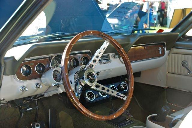 1965 1966 Mustang Real Wood Steering Wheel Ford Mustang
