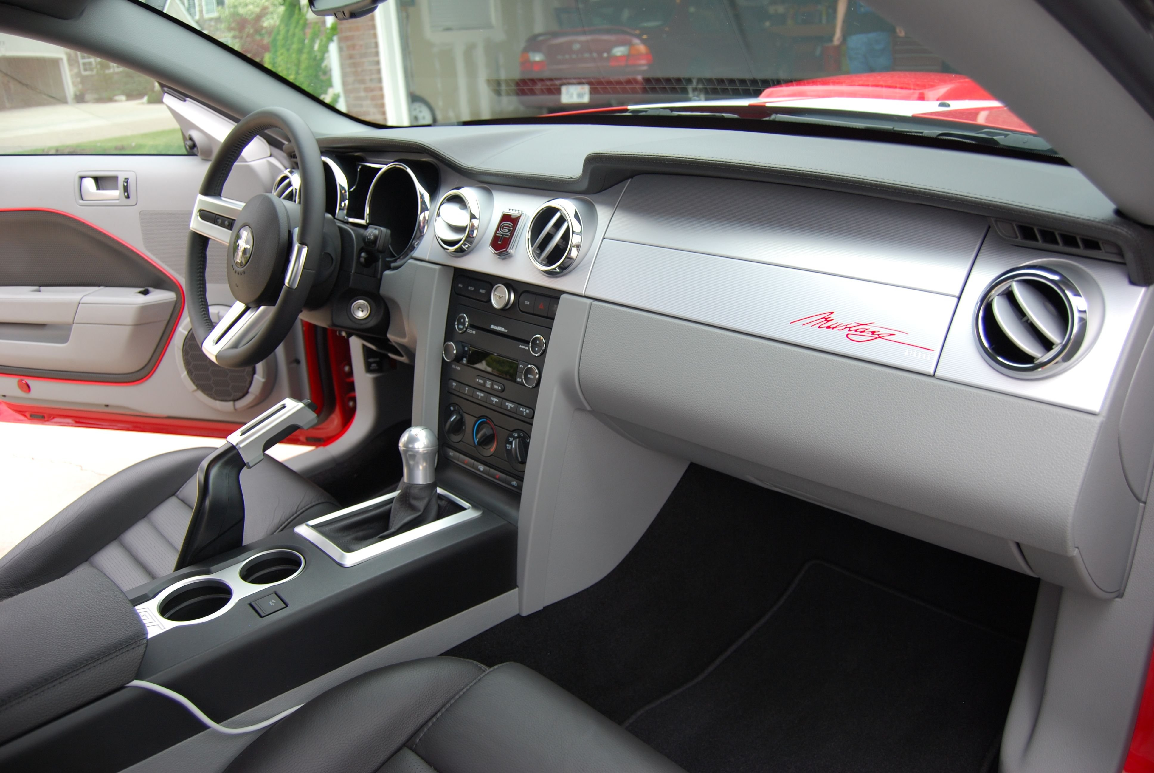Interior Mods Added To 2008 Gt