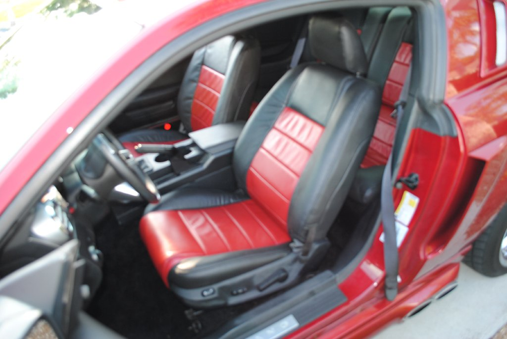 Dyed my interior black on my 2007 Mustang - Page 2 - Ford ...