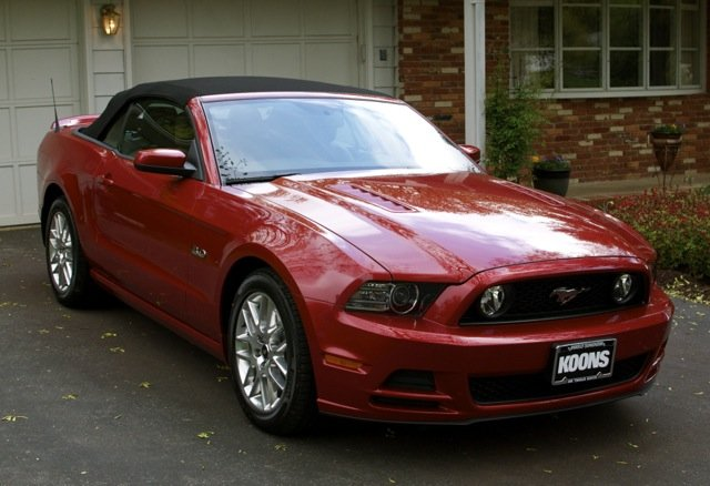 Quick Review Of A Red Candy 2013 Mustang Gt Premium