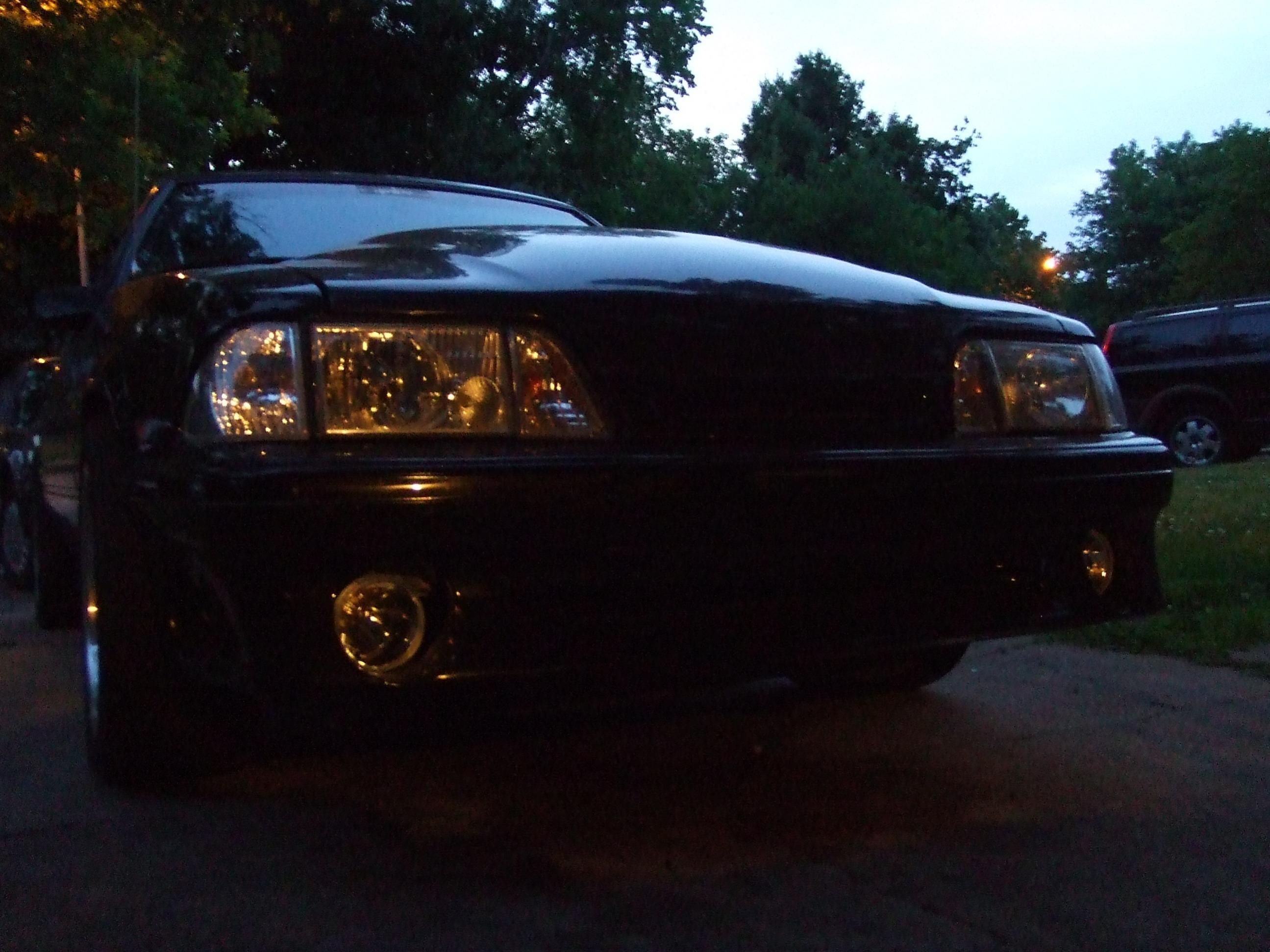 Wiring Gurusradio And Headlights Related Plus I Installed Fog 1988 Mustang Lights