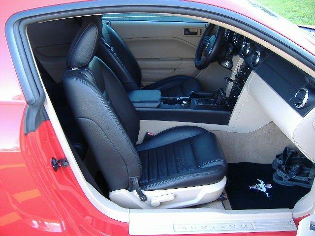 2010 Mustang Interior Swap