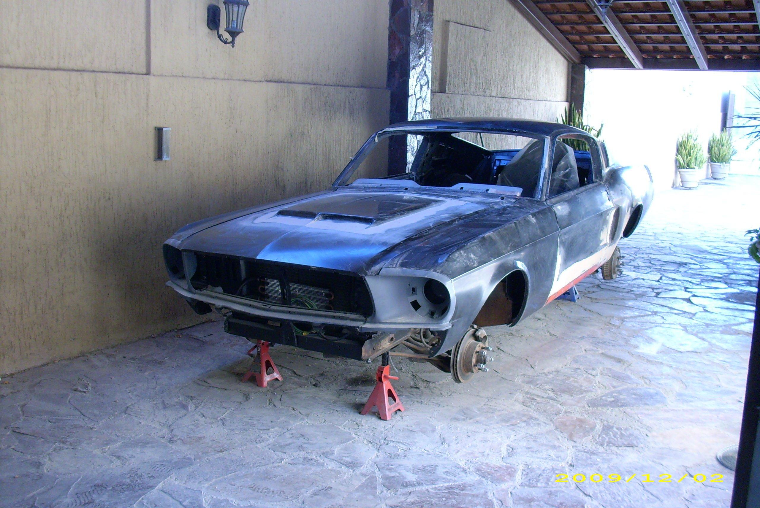 Mustang Hood Scoop >> hood scoop on my 67 mustang - Ford Mustang Forum