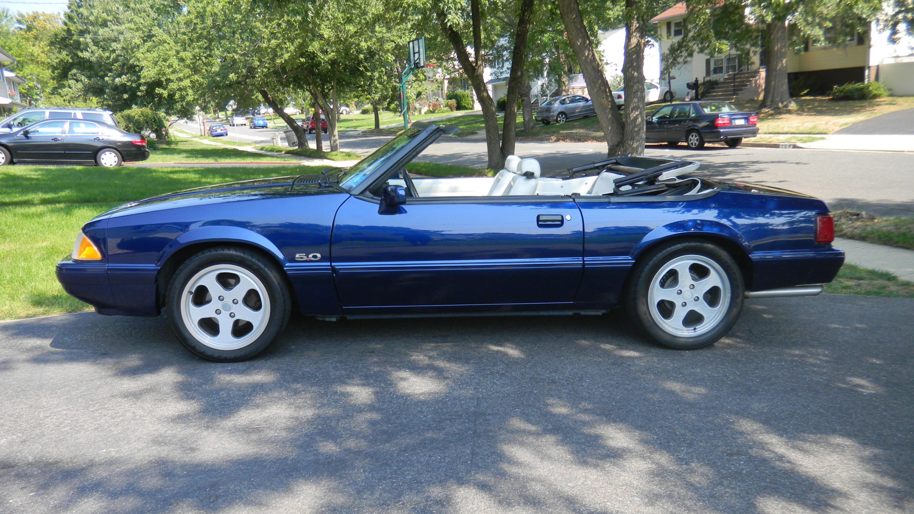Fox Body Convertible Top Color Suggestions Ford Mustang
