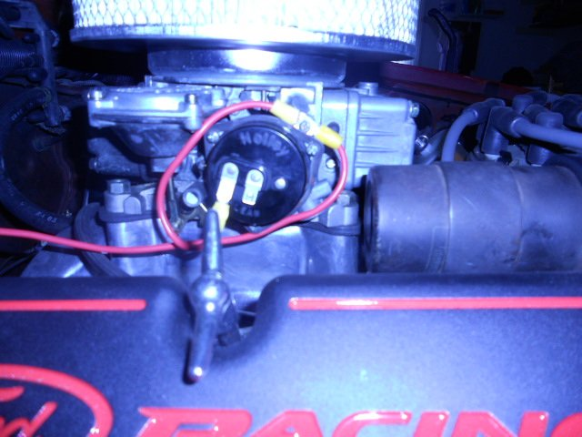 holley electric choke very hot to the touch ford mustang forum rh allfordmustangs com Holley Manual Choke Installation install electric choke holley