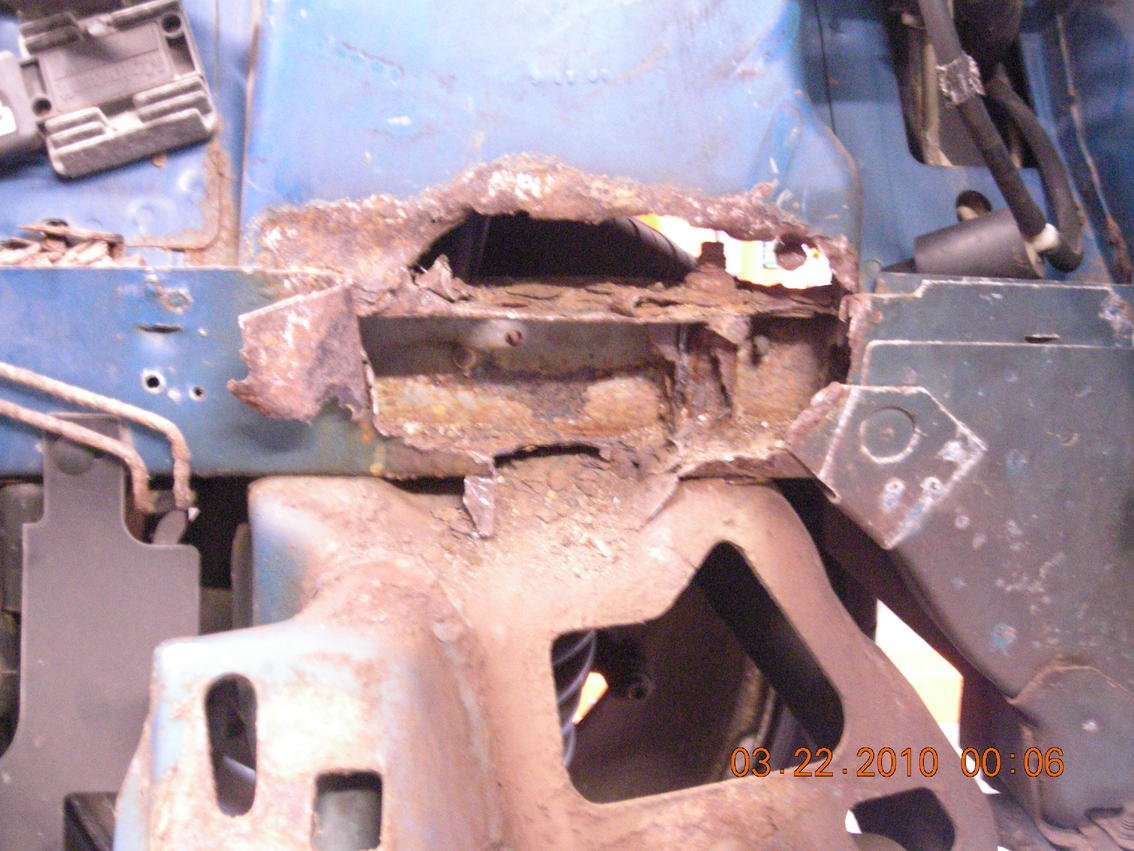 Ford Mustang Forum View Single Post Strut Tower Rust