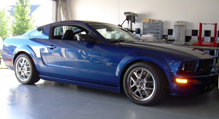 Anyone painted Stock v6 rims? - MustangForums.com