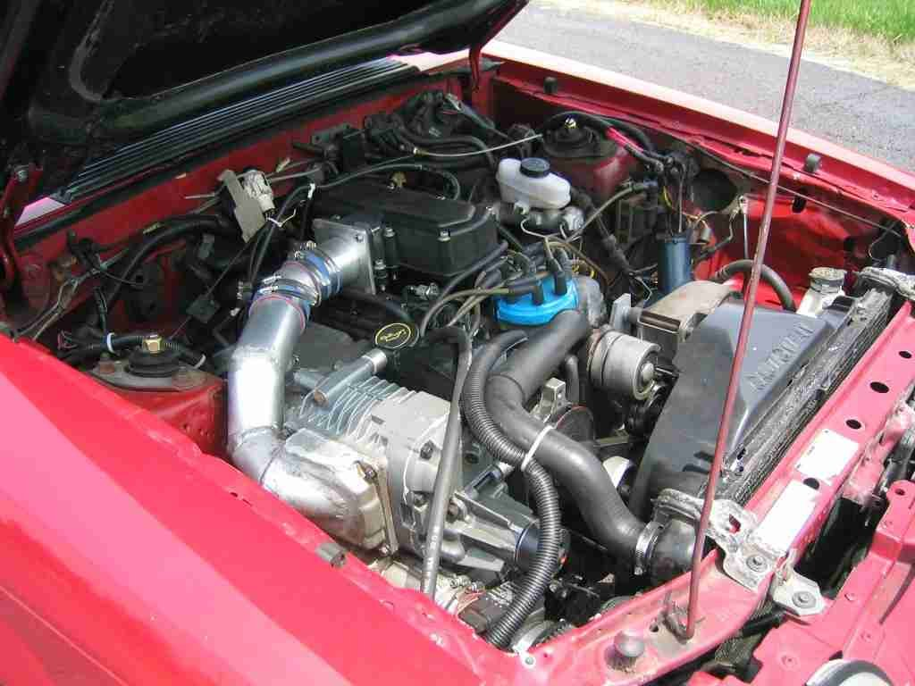 supercharged 4 2 project begins Eaton M112 - Chevy