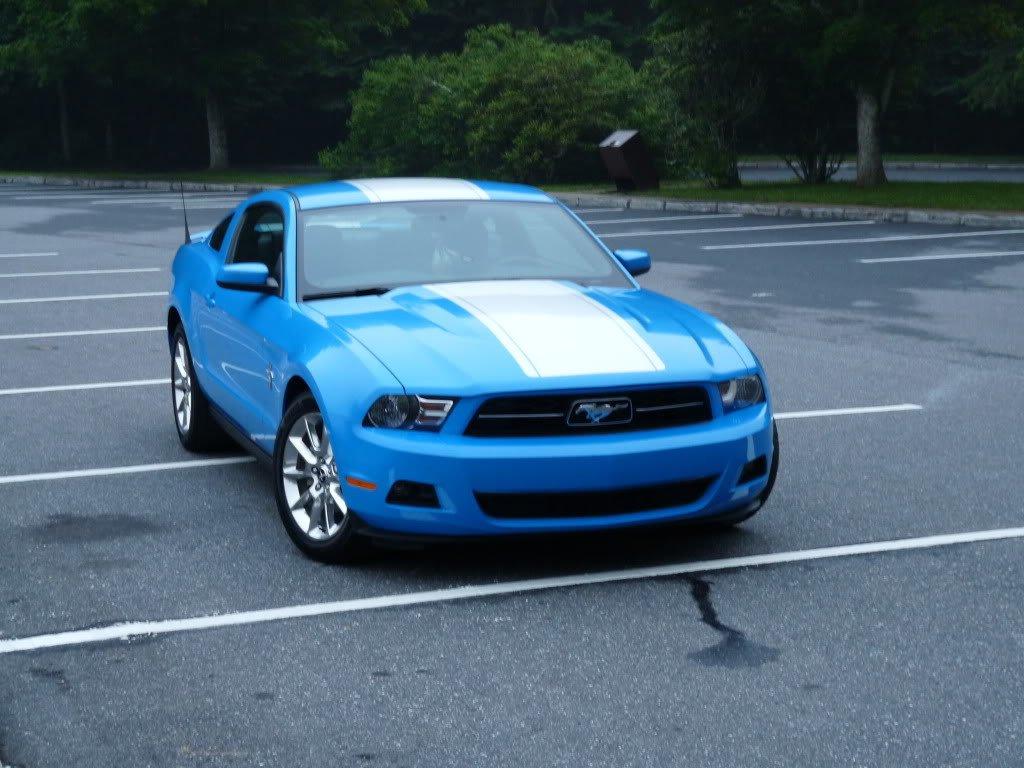Blue Mustang gt 2011 Mustang gt Grabber Blue