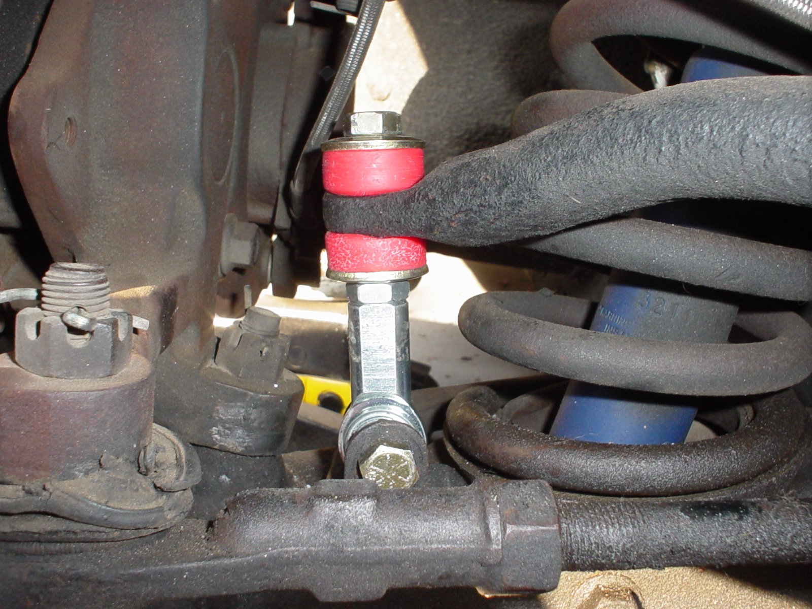 Stronger Alternative For Sway Bar Endlinks Ford Mustang