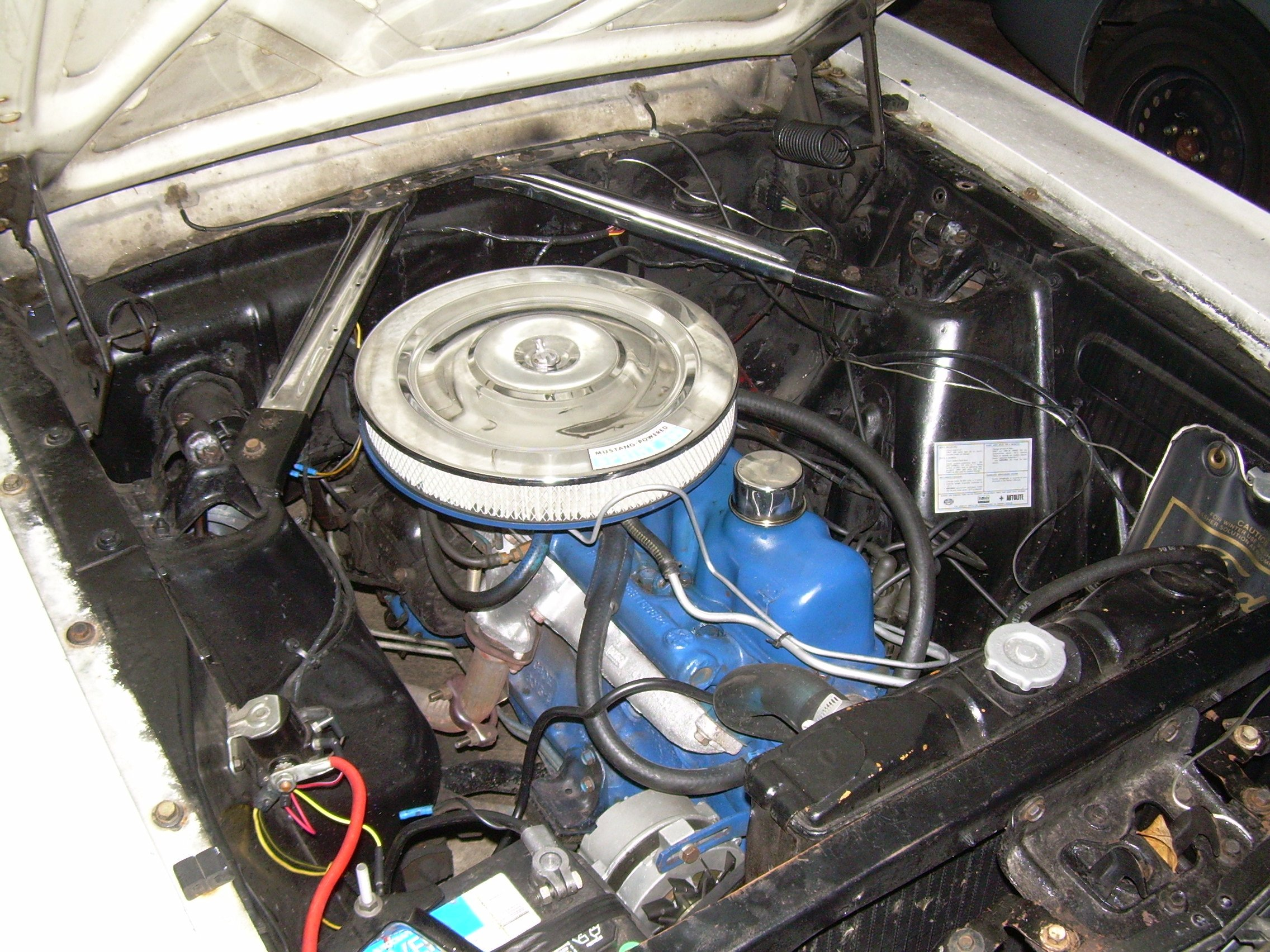 D Mustang Sprint Exhaust Manifold Question Engine on Ford Engine Block Numbers Location