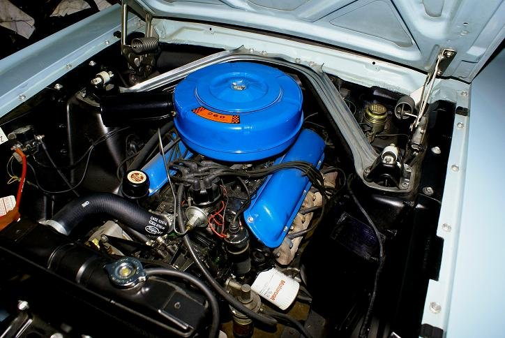 1964 1 2 Mustang Convertible 260 Air Cleaner Ford