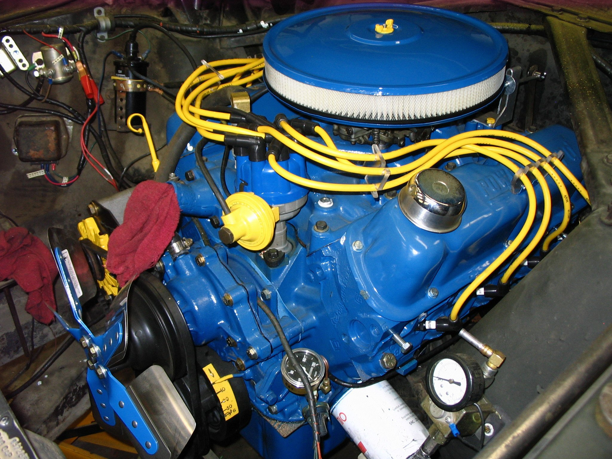 1971 ford 302 engine diagram Images Gallery. new 347 up and running but  question about the timing ford mustang rh allfordmustangs com