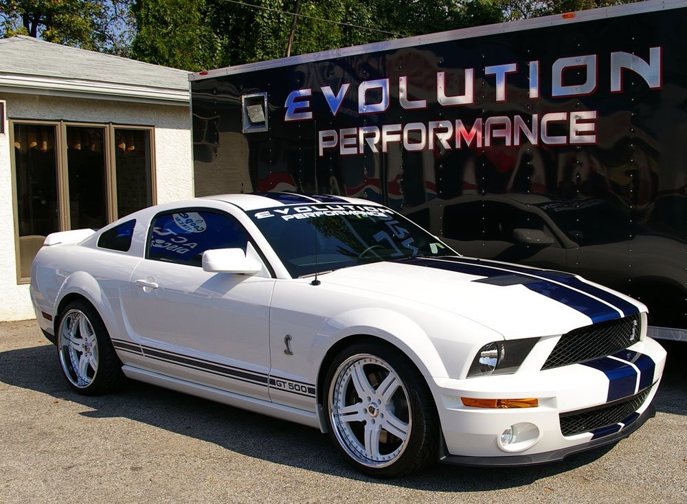 2007 Shelby Mustang GT Wheels
