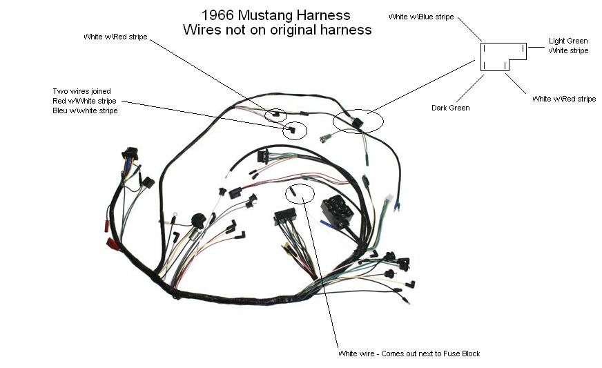 wiring diagram 1966 mustang ireleast info 1966 under dash wiring help ford mustang forum wiring diagram